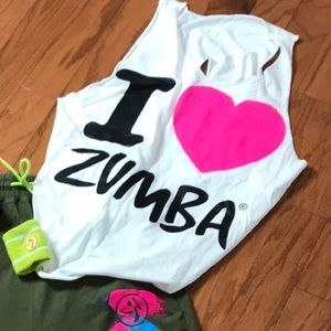 I Love Zumba convention T-shirt